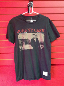 Johnny Cash Recent Vintage Folsom Prison T-Shirt - Size Medium