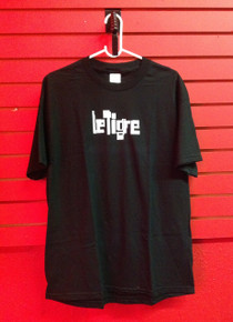 Le Tigre Logo T-Shirt in Black