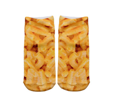 Mac N' Cheese Ankle Socks