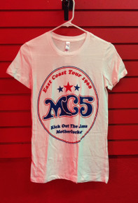 MC5 68 East Coast Tour Slim Cut T-Shirt