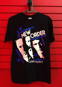 New Order Ceremony T-Shirt in Black