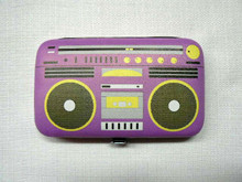 Pop Nail Kit - Retro Purple Boom Box