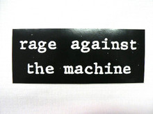 Rage Against the Machine Bumper Sticker