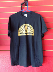 Sun Records Logo T-Shirt in Black