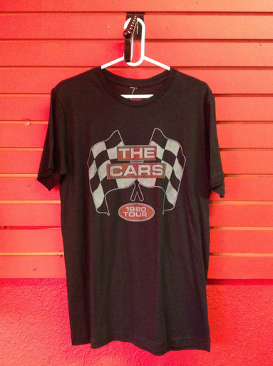 The Cars 1980 Tour Reprint T-Shirt