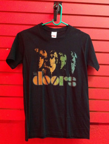 The Doors Rainbow Faces T-Shirt