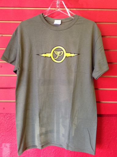 The Pixies - Lightning Army Logo T-Shirt (front)