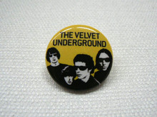 The Velvet Underground Band Button
