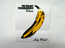 Velvet Underground with Nico Warhol Banana Sticker