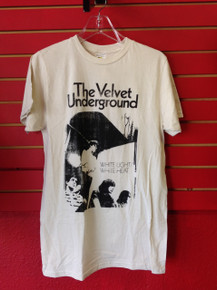 Velvet Underground White Light White Heat T-Shirt in White