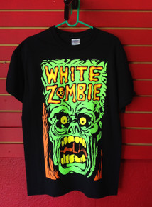 White Zombie Monster T-Shirt