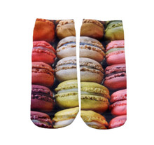 Living Royal French Macaron Cookie Ankle Socks