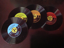 45 Records Coasters