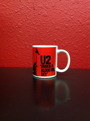 U2 Under a Blood Red Sky Mug