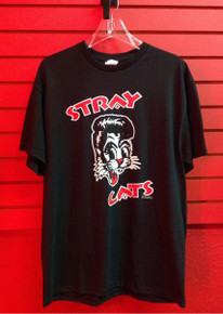Stray Cats Logo T-Shirt