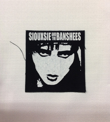 Siouxsie and the Banshees Punk Rock Patch