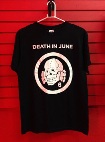Death in June Totenkopf 6 Logo T-Shirt
