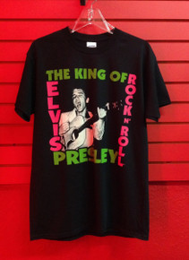 Elvis Presley First Album Cover T-Shirt