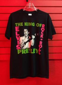 Elvis Presley First Album Cover T-Shirt