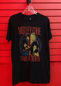 Motley Crue Vintage Look Shout at the Devil 83 World Tour T-Shirt