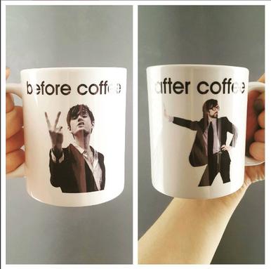 Jarvis Cocker Pulp coffee mug