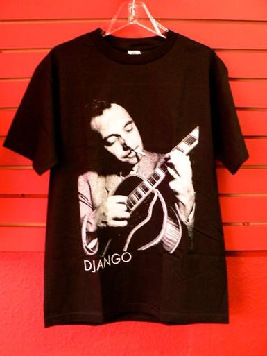 Django Reinhardt With Guitar T-Shirt
