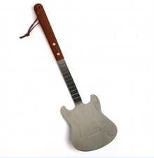 Metal Guitar Barbecue Grill Spatula