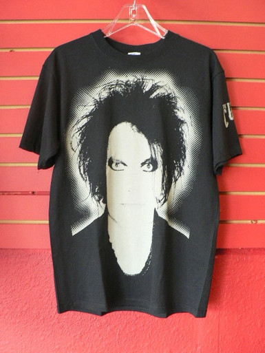 The Cure - Robert Smith Close Up - Two Sided T-Shirt Front