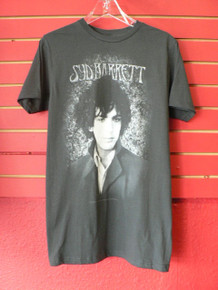 Syd Barrett Portrait T-Shirt in Dark Grey