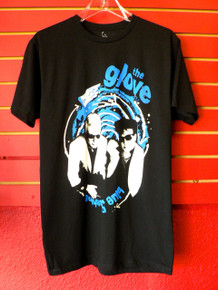 The Glove - Blue Sunshine - T-Shirt From Lethal Amounts Los Angeles Robert Smith of the Cure and Steven Severin of Siouxsie and the Banshees