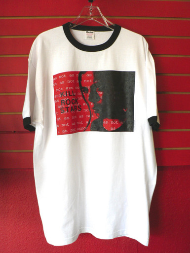 Vintage 90s Kill Rock Stars Record Label Ringer T-Shirt (Size XL Only)
