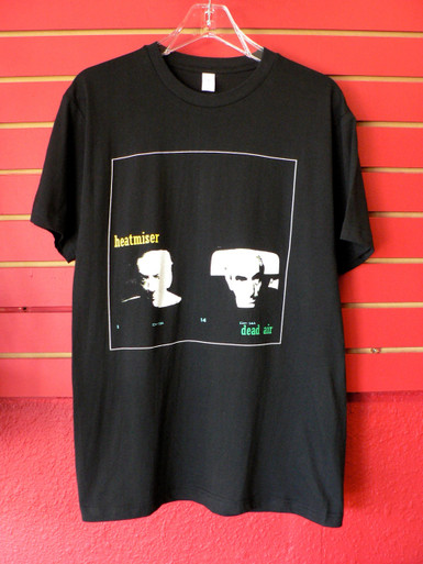 Vintage Heatmiser (Elliott Smith) Dead Air Album - Frontier Records T-Shirt