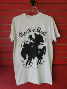 Old School Rock N Roll Cowboy T-Shirt