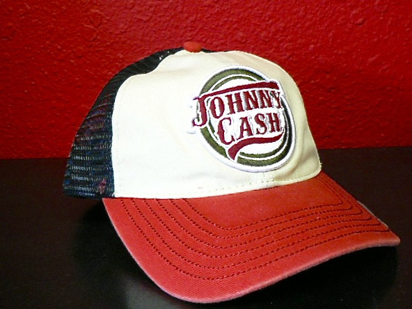 Johnny Cash Adjustable Trucker Cap Hat Classic Country Accessories 7fdb5699103