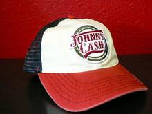 Johnny Cash Adjustable Trucker Cap