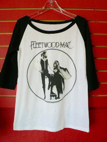 Fleetwood Mac Rumours Baseball Style Long Sleeve T-Shirt