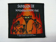 Vintage 90s Deadstock Never Worn Samhain III November Coming Fire Sew On Patch