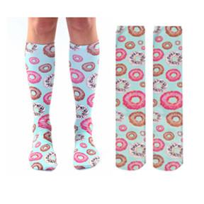 Living Royal Knee High Donut Socks