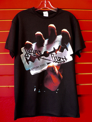 Judas Priest - British Steel Album Cover T-Shirt front