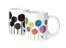 Mod Flowers Morph Mug