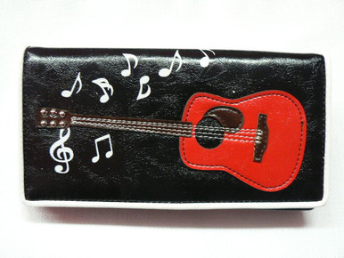 Country Rocker Ladies Bi-Fold Zipper Wallet