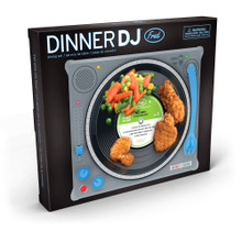 Dinner DJ Record Turntable Child's Dining Set