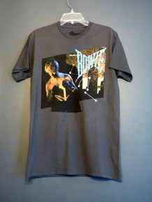 David Bowie - Let's Dance Album T-Shirt in Dark Grey