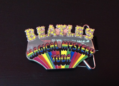 Beatles Magical Mystery Tour Belt Buckle