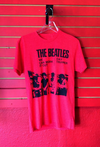 Beatles We Can Work It Out Red T-Shirt