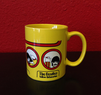 Beatles Yellow Submarine Coffee Mug