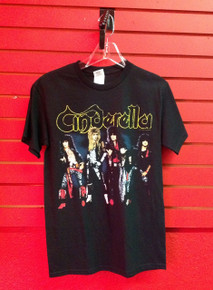 Cinderella Retro 80s Print T-Shirt - Adult Small