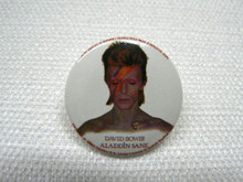 David Bowie Aladdin Sane Album Cover Button