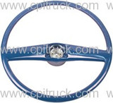 STEERING WHEEL BLUE CHEVROLET GMC TRUCK 1969 - 1972