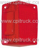TAIL LIGHT LENS RH GMC CHEVROLET SPRINT 1971  - 1972